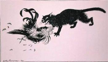 Кіт і півень