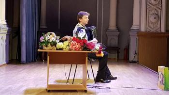 Про концерт українського акордеоніста Ігоря Завадського в Будинку актора: