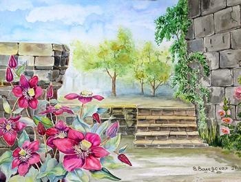 В старом саду
