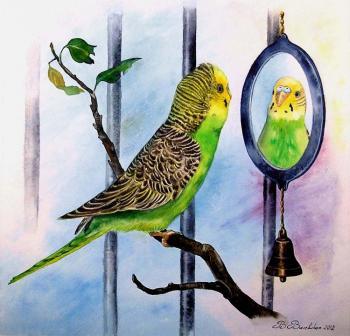 Петруша и зеркало