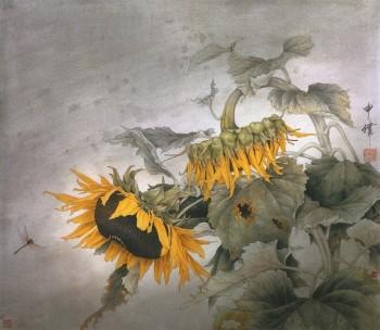 Осінь у соняшниках